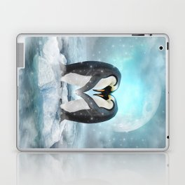 Listen Hard (Penguin Dreams) Laptop & iPad Skin
