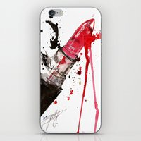 mac iPhone & iPod Skins featuring MAC by Sasha Spring Illustration