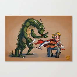 Quest for Glory Canvas Print