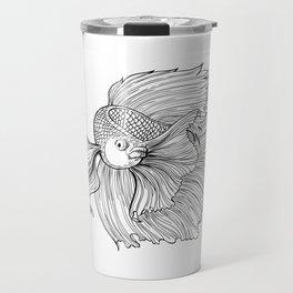 Siamese fighting fish Travel Mug