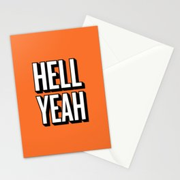 HELL YEAH Stationery Cards