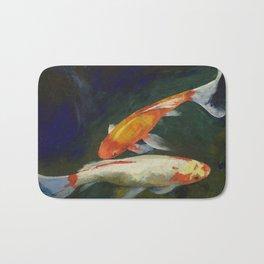 Feng Shui Koi Fish Bath Mat