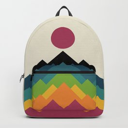Life Is A Mountain Backpack