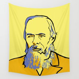 Fyodor Dostoyevsky Wall Tapestry
