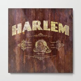 Harlem lion Metal Print