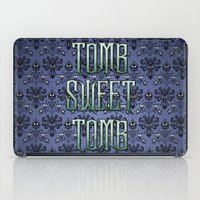 haunted mansion iPad Cases featuring Haunted Mansion - Tomb Sweet Tomb by Brianna
