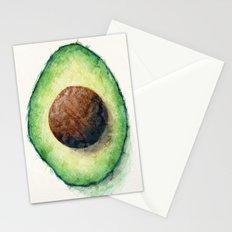 Avocado Split Stationery Cards