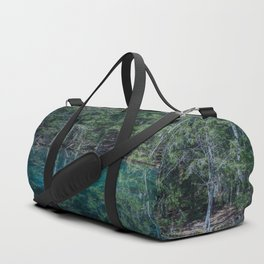 Magical Atmosphere By The Forest Source - Beautiful Reflection #decor #society6 #buyart Duffle Bag