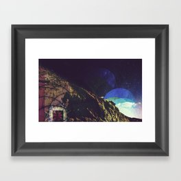 Gate-o-rainbows Framed Art Print
