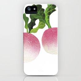 Turnip Illustration iPhone Case