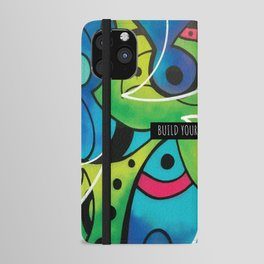 BUILD YOUR OWN DREAM ( GARDEN ) iPhone Wallet Case