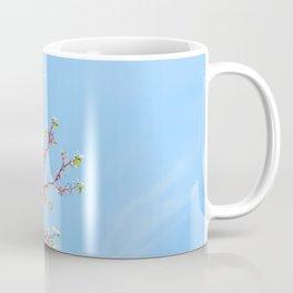 Blossoming Cercis siliquastrum or Judas tree Coffee Mug