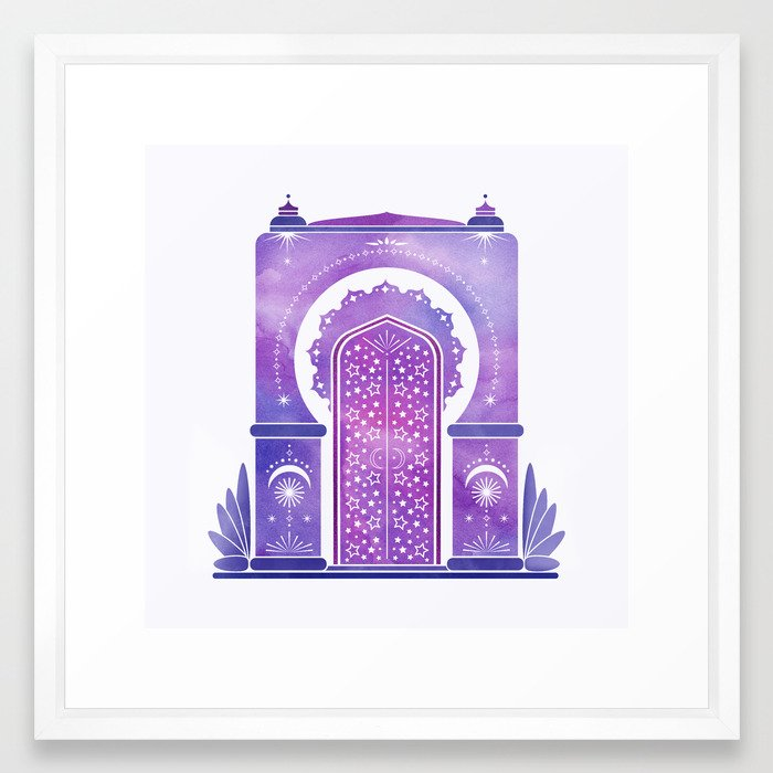 Moroccan Dreams Framed Art Print