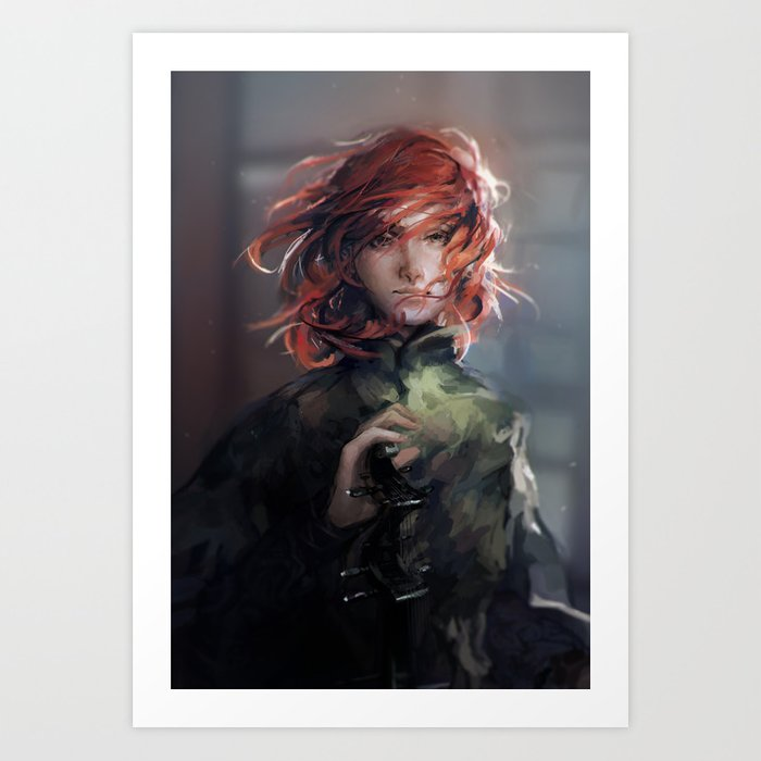 Young Wind Art Print