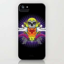No More Happy Face iPhone Case
