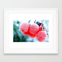 frozen Framed Art Prints featuring Frozen by Antonia Elena