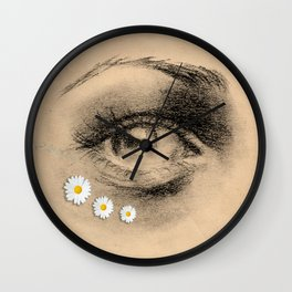 DAISY EYES Wall Clock