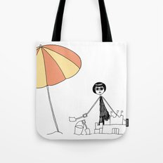 Sandcastle Tote Bag