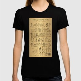 The Postmodern Pioneer Plaque T-shirt