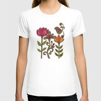 valentina T-shirts featuring In the garden by Valentina Harper