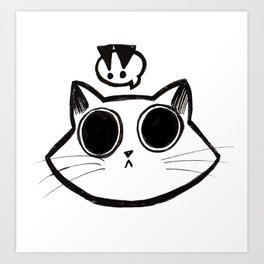 Attention Claw Art Print