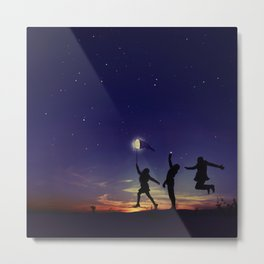 Friendship is the greatest adventure of all Metal Print