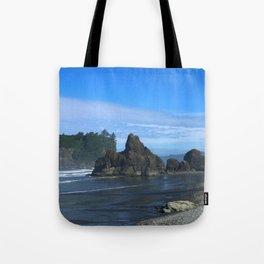 Morning At Ruby Beach Tote Bag