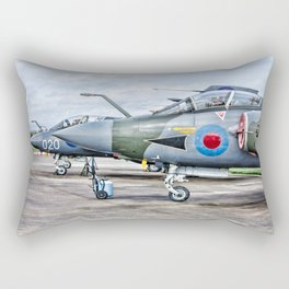 Buccaneer strike aircraft Rectangular Pillow