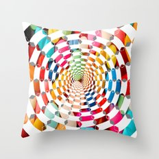 Candy Drug Throw Pillow