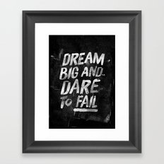 II. Dream big Framed Art Print