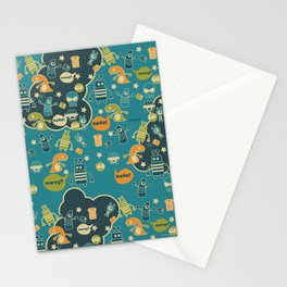 Monster Galaxy Stationery Cards