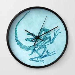 Velociraptor Wall Clock