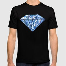 Facets you like MEDIUM Mens Fitted Tee Black