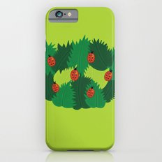 Green Leaves And Ladybugs In Spring Slim Case iPhone 6s