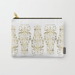 La Vie & La Mort – Gold Palette Carry-All Pouch