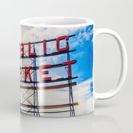 {The Seattle Collection} Pike Place Market #1 Coffee Mug