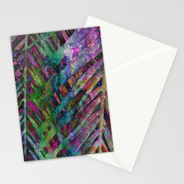 Palms in Multi-Color Stationery Cards