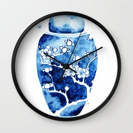 Ginger Jar I Wall Clock