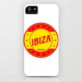 Ibiza, circle iPhone Case