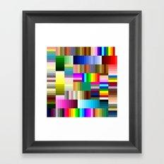 Sharpie Crazy Framed Art Print