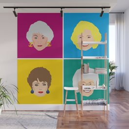 The Golden Girls - Pop Art Style Wall Mural