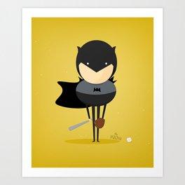 Bat man: My baseball hero! Art Print