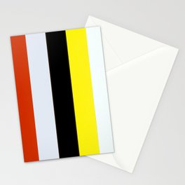 Ellsworth Kelly Red Yellow Blue White and Black Stationery Cards
