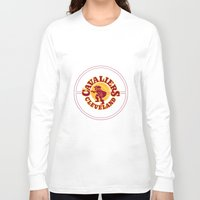 lebron Long Sleeve T-shirts featuring Cavaliers All In C by DeBUM