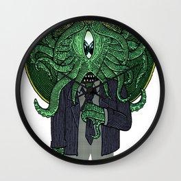 Eye of Cthulhu Wall Clock