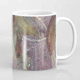 Purple fractal with circles Coffee Mug