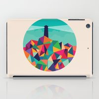 sayings iPad Cases featuring I'll be your lighthouse if you'll be my sea by Picomodi