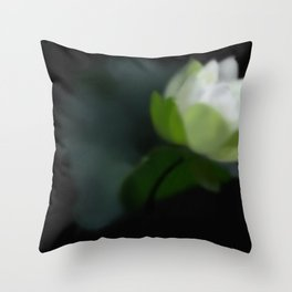 Bloom in the Dark Throw Pillow