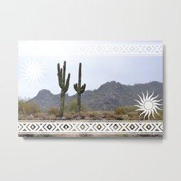 Arizona Sun Metal Print