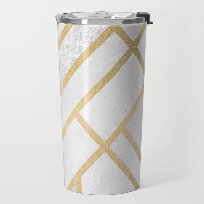 Art Deco Geometry 2 Travel Mug
